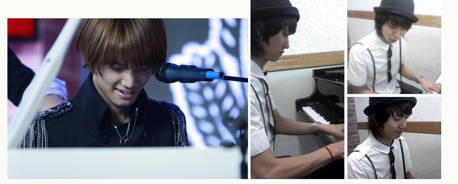 金恩圣 弹钢琴的图片