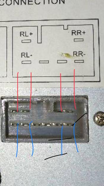 怎么接汽车cd机改家用接线图