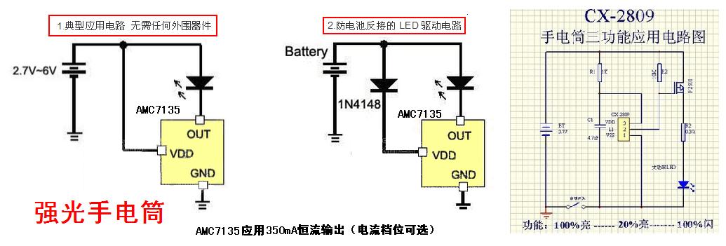 电压出现变化,影响led的电流变化,影响led的亮度和寿命(充电电池的
