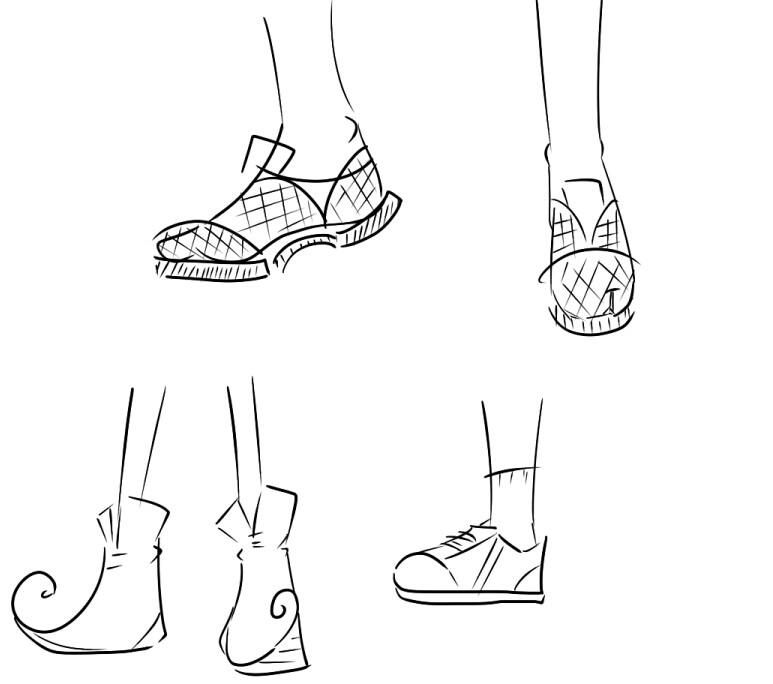 脚的各个部位名称图解