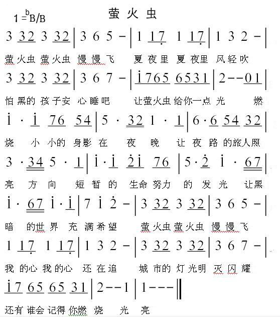 12陶笛曲谱