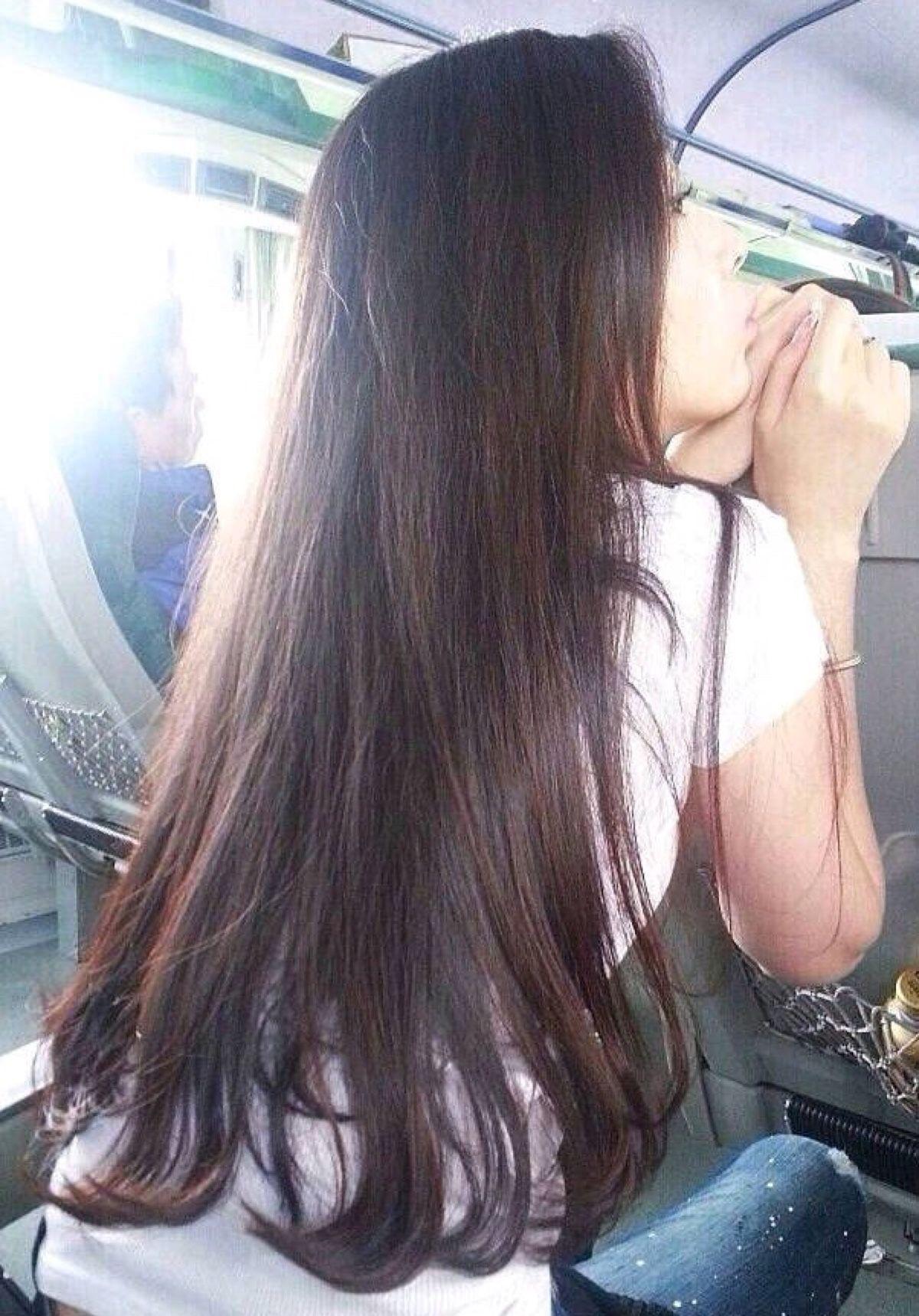 长发发尾微卷大概多少钱,上边的头发是没有动过新长的