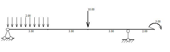 追答 这是用结构力学求解器计算的 追问 能给我给清楚的答案吗?
