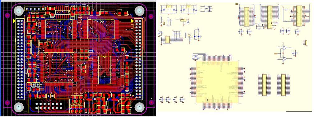 求lpc2290最小系统的电路图和pcb图.在线等.