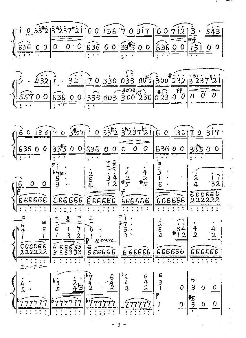 电子琴谱简谱《致爱丽丝》电子琴简谱,要带左手伴奏的