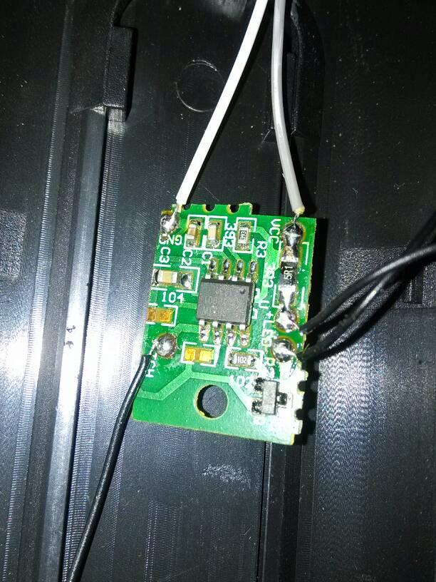 这是小台灯的电路板,灯开不了,怎么检测!