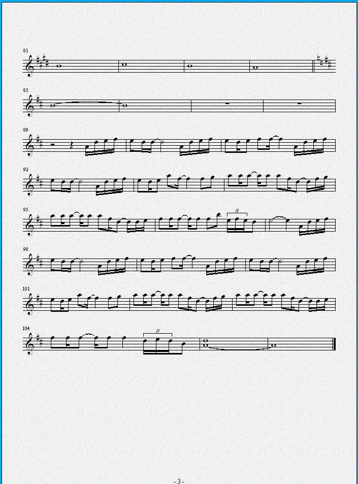 久石让the rain大提琴五线谱.只要大提琴!