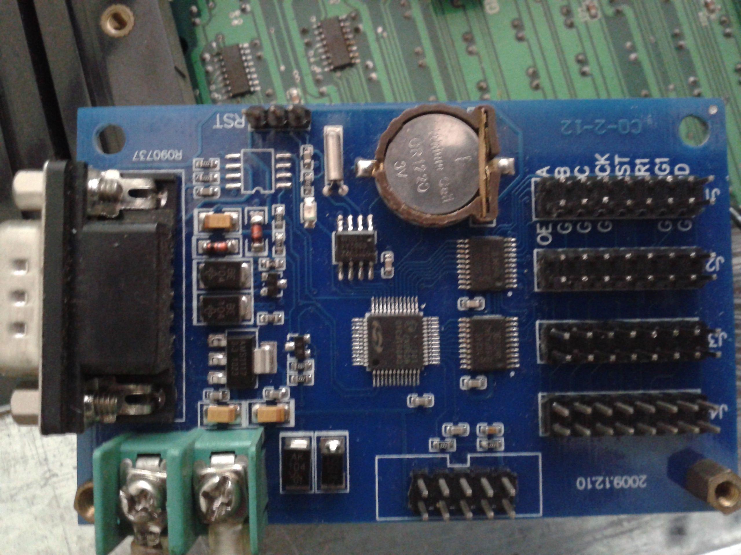 mam一860控制板接线图