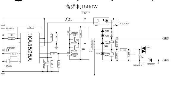 请问哪位师傅有24v的电鱼机电路图有的请上一个谢谢.要求3525驱动的.