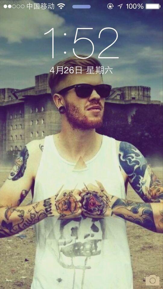 欧美霸气纹身男头像 10 急求壁纸原图.图片