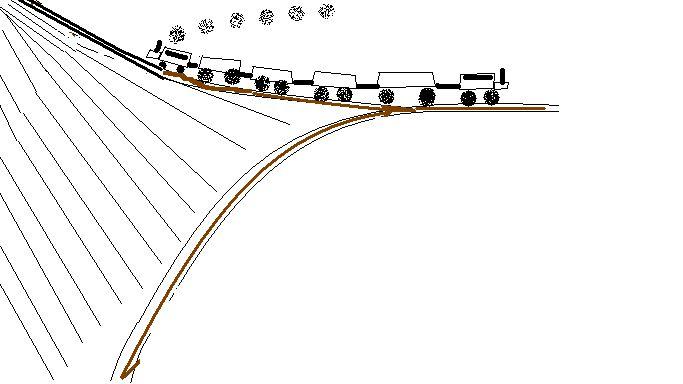 詹天佑设计的人字形线路(图)图片
