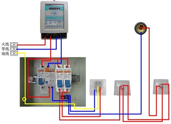 正泰dz47le-63 c60漏电保护器怎么接线