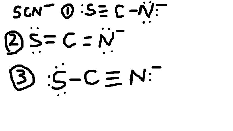 形式电荷与路易斯结构图片
