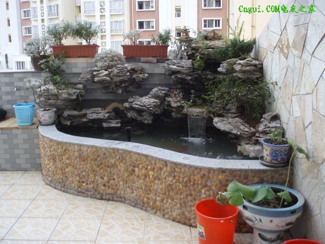 室外鱼池设计图片