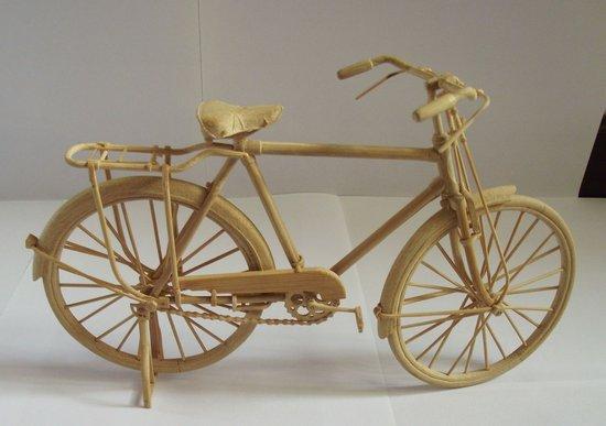 怎么弄制作那种木头自行车,就是手工玩具自行车图纸