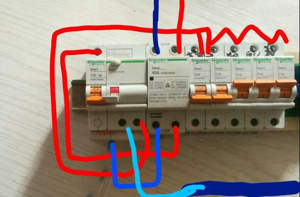 欠压电箱接线怎么接