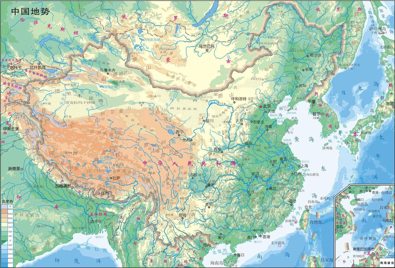 求中国地图~~~~~