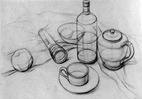 怎样画好结构素描?