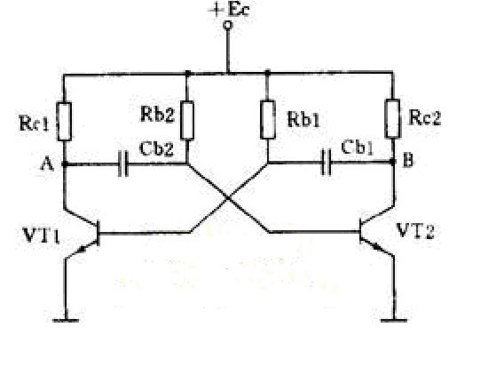 如果产生方波的电路是集-基耦合的多谐振荡器,那么方波的频来决定于