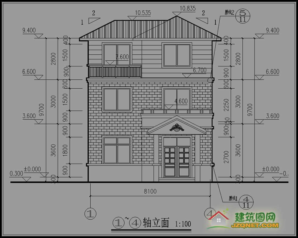 结构形式:砖混结构; 设计功能: 一层:堂前,老人房,厨房,卫生间,农具