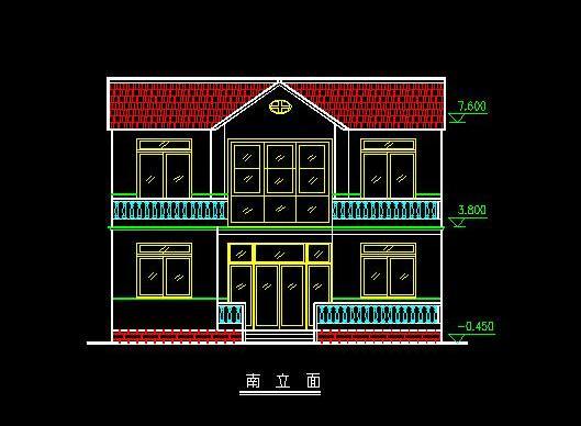 求两层楼房屋设计