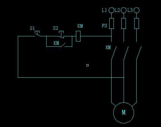 这张三相异步电动机电路图 哪里 画错了呢···并帮我解释一下这些符
