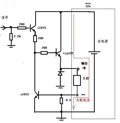 求高手指点:电路图正确,用multisim11仿真,示波器老是