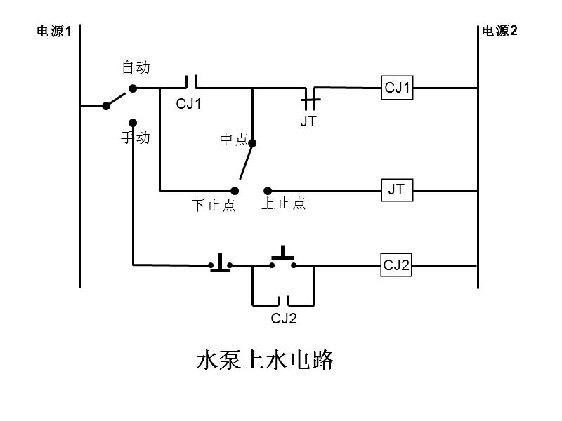 电压力表型自动控制水泵接线图