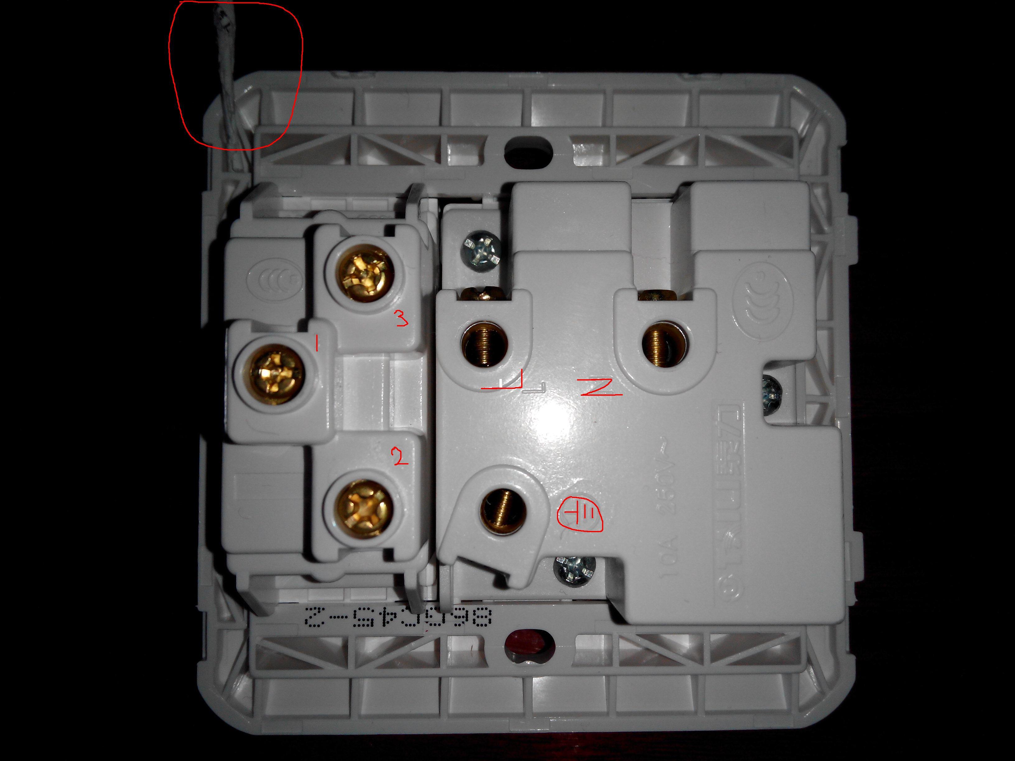 一开五孔插座怎么接线?