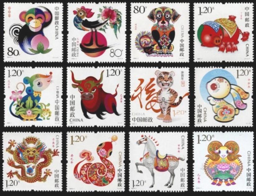 第二轮十二生肖邮票价格表