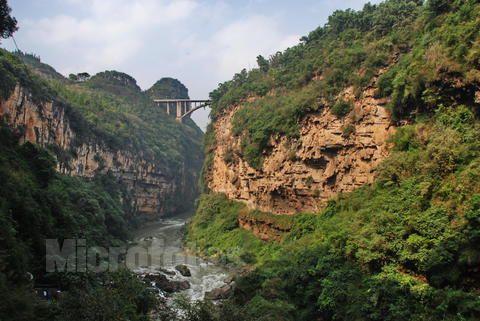 马岭河峡谷风景区的地方美食