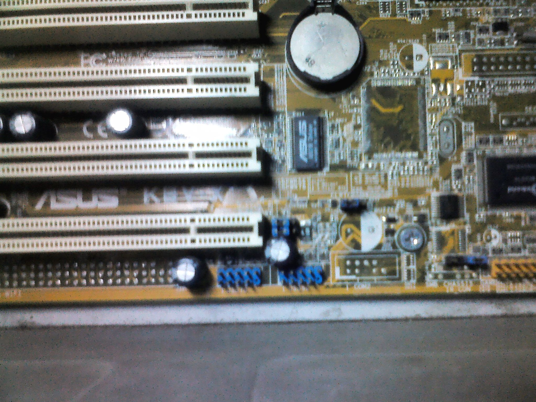 华硕主板k8v-x主板跳线接法 主板上有2个蓝色9针接线柱模块不知怎样