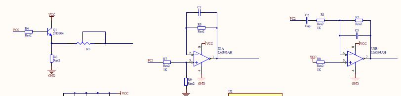 pwm脉冲宽度调制产生方波,正弦波,三角波的实现电路!