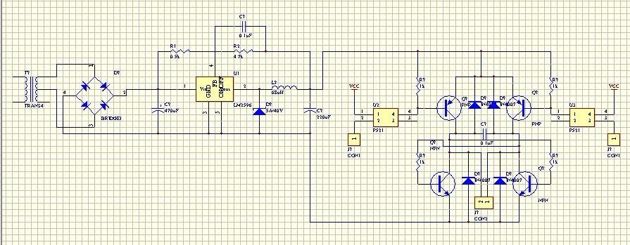 直流电机控制电路之电路保护