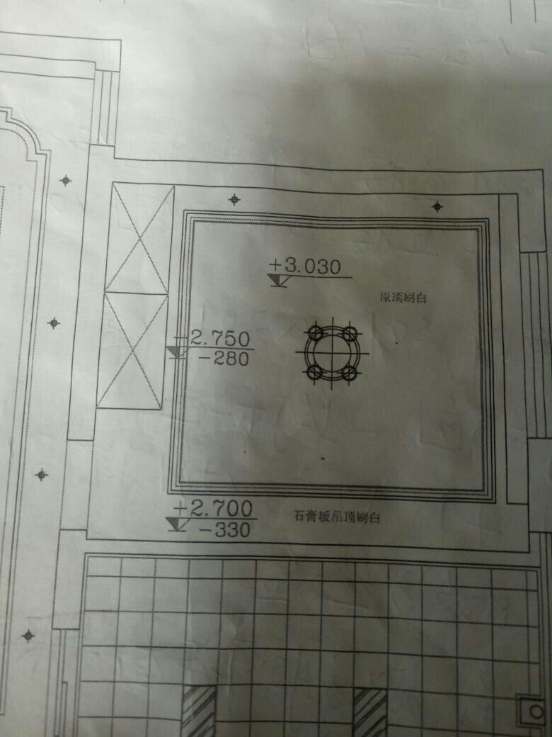 讲解图纸道路三角-代表图纸数字平面市政吊顶意思图片