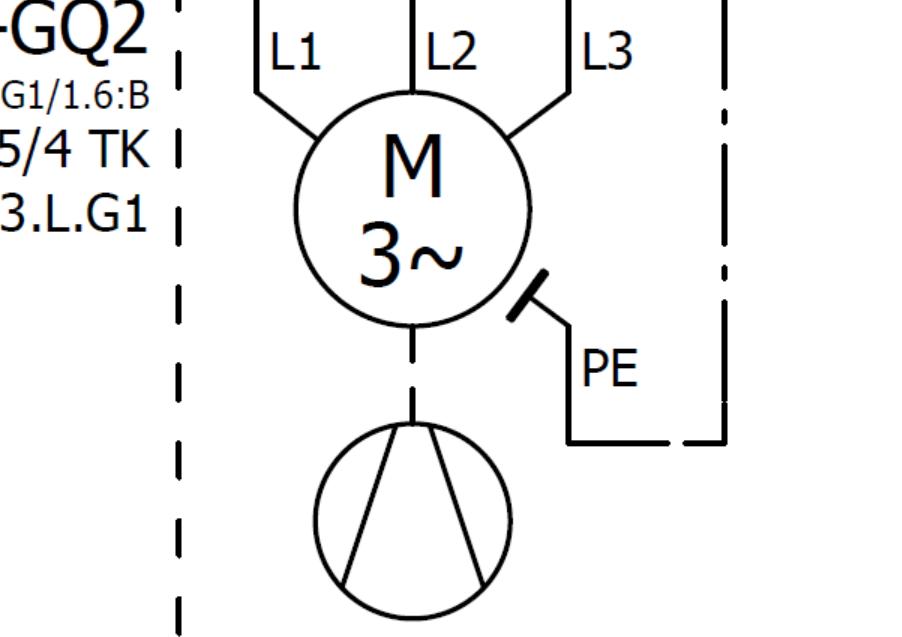 请问各位专家电路图上面电机下面的那个圈是什么东西?