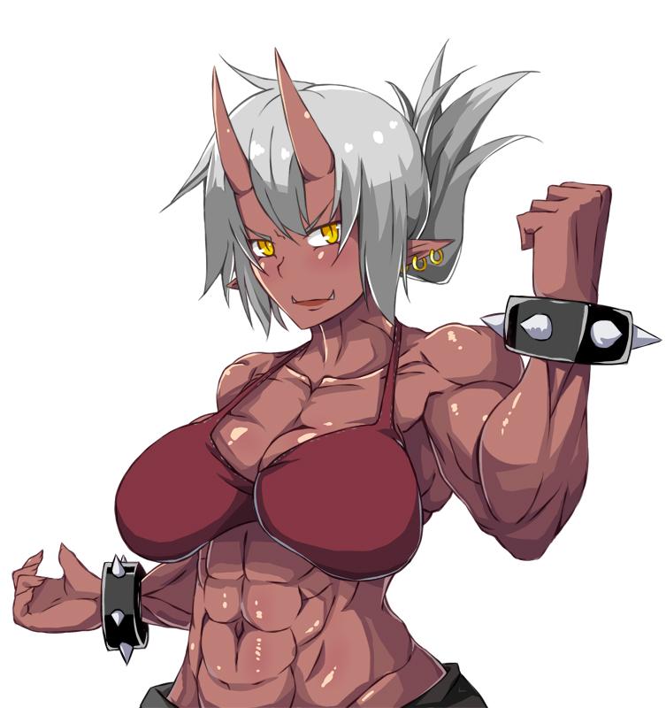 动漫人物肌肉的画法