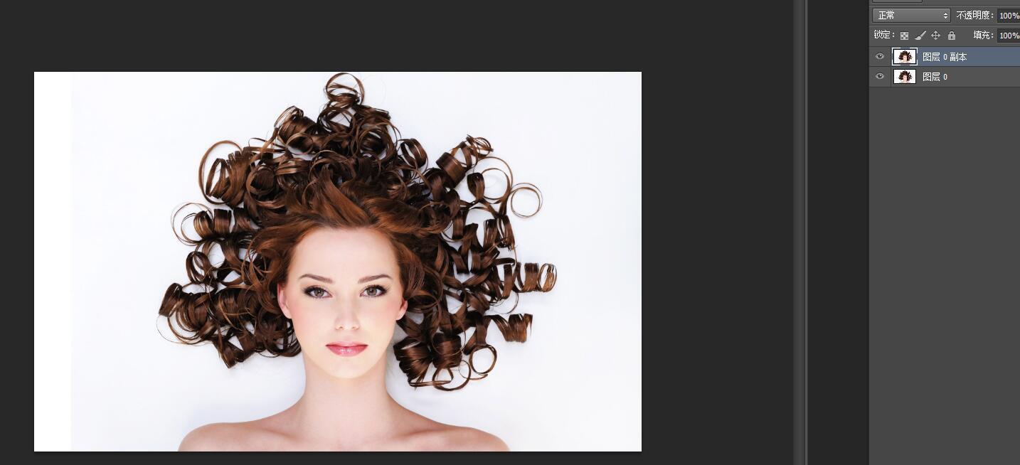 如何在photoshop里面的钢笔抠图人物及其头发?