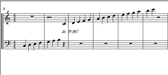 五线谱音符符号大全