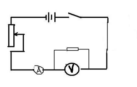 这个实物图的电路图怎么画