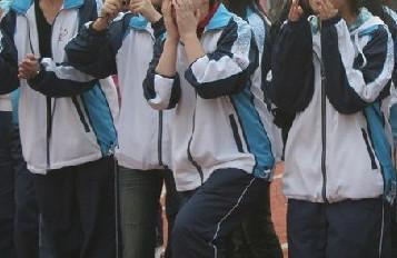 南京中学校服_这是南京哪所学校校服?