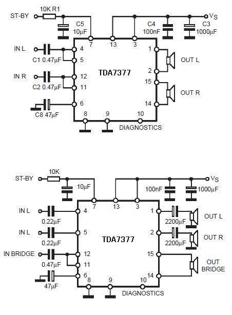 12v功放电路图