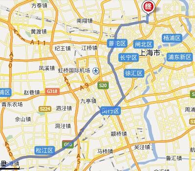 上海虹口区地图_嘉兴图书馆到上海虹口区场中路628号的地图路线(自驾)
