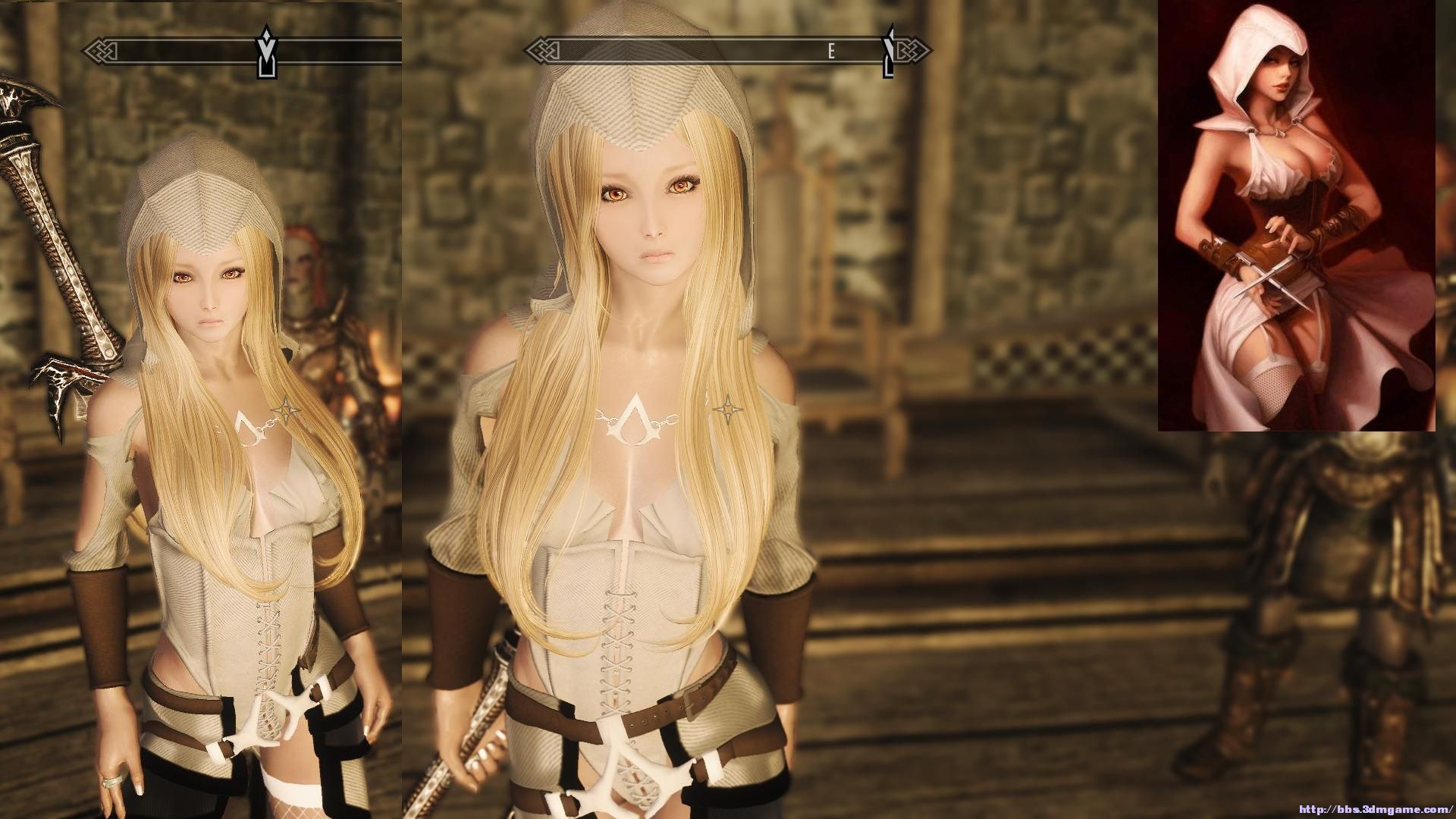 Nude lineage 2 characters in armors hardcore films