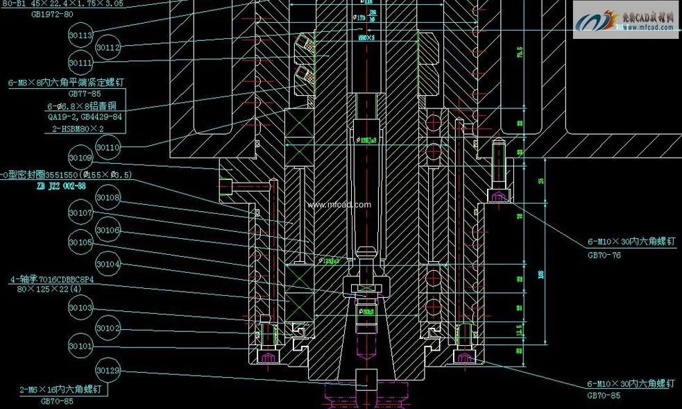 立式铣床的结构(主轴箱部分)?