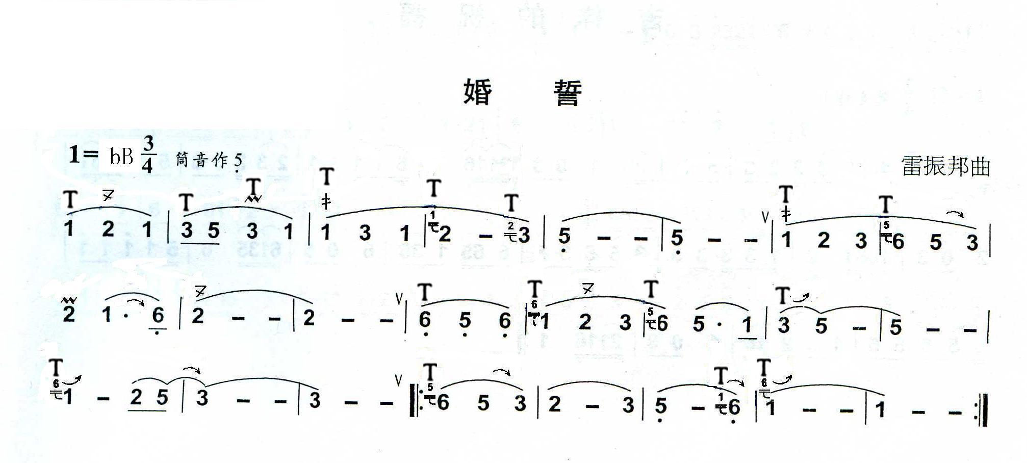 降b的葫芦丝,谁能帮忙把指法发过来,最好再附带一首简单的适合初学者