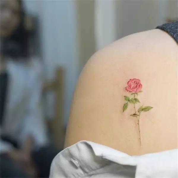 女生第一次纹身,纹在脚踝处有什么好看的图片推荐吗?
