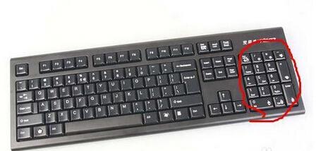 键盘字母打字打出来是数字怎么回事?