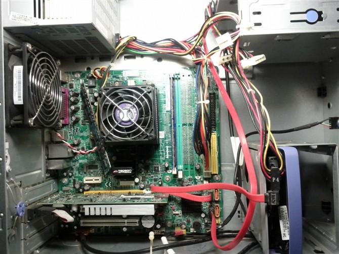 硬盘,显卡,cpu,电源风扇分别在哪个位置?求详