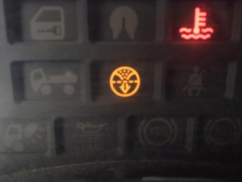 华凌货车仪表盘故障灯图解